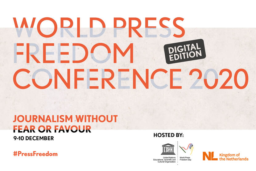 World Press Freedom Conference 2020 - Digital Edition - 9 en 10 december