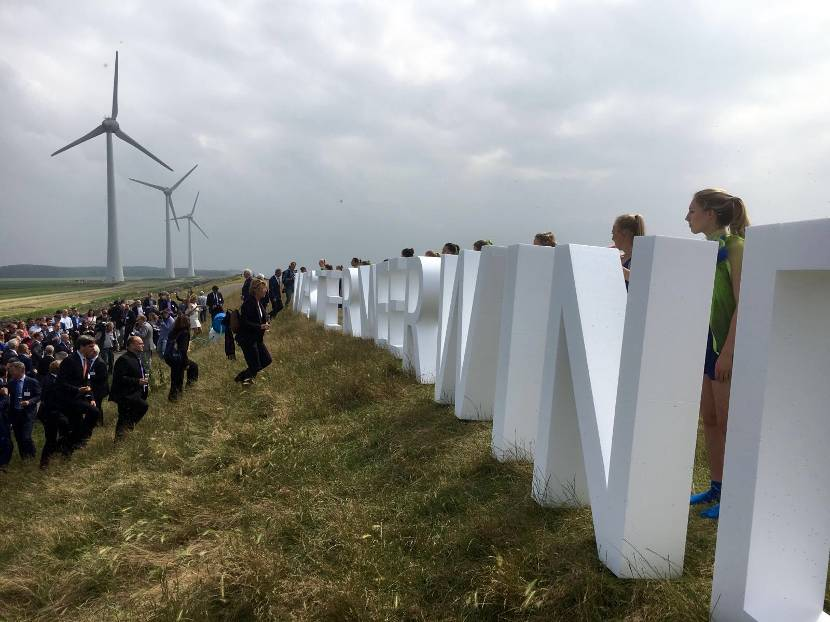 Opening van Windpark Westermeerwind in Espel