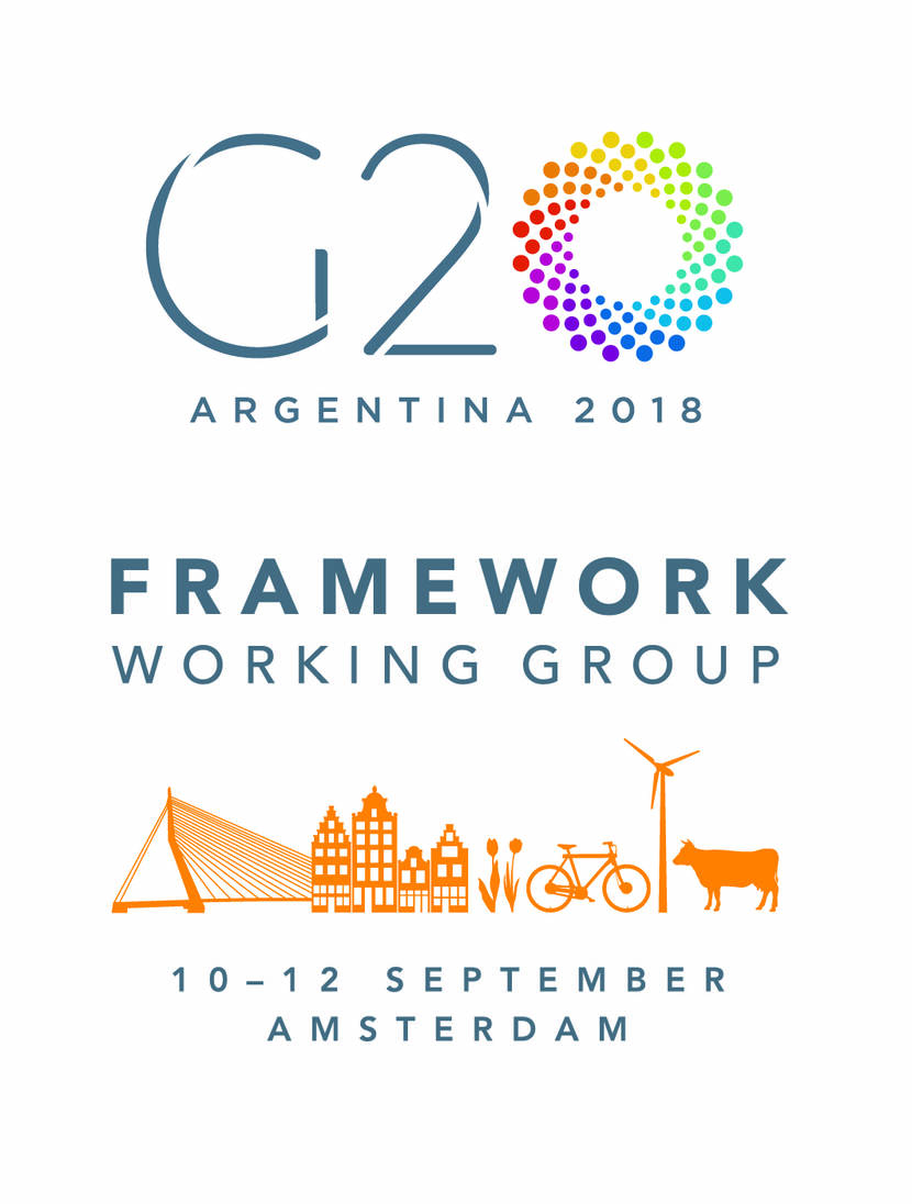 Logo G20 Framework Working Group.