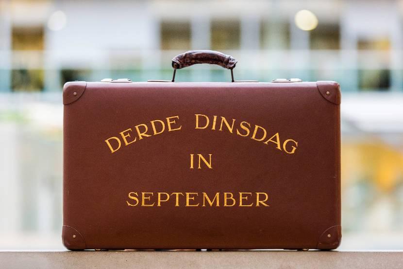 Het originele koffertje dat Pieter Lieftinck.
