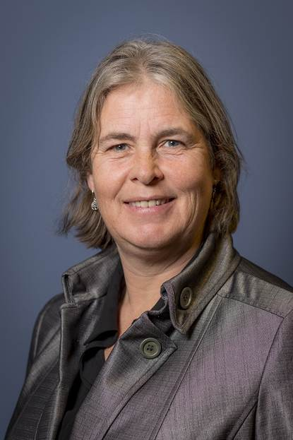 Portretfoto Astrid Nienhuis burgemeester Heemstede
