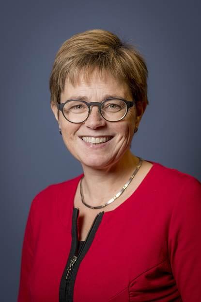 Portretfoto burgemeester Miranda de Vries gemeente Etten-Leur