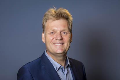 Portretfoto burgemeester Hamming van Zaanstad