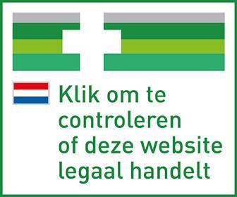 logo website onlijne aanbieder medicijnen.nl met rand
